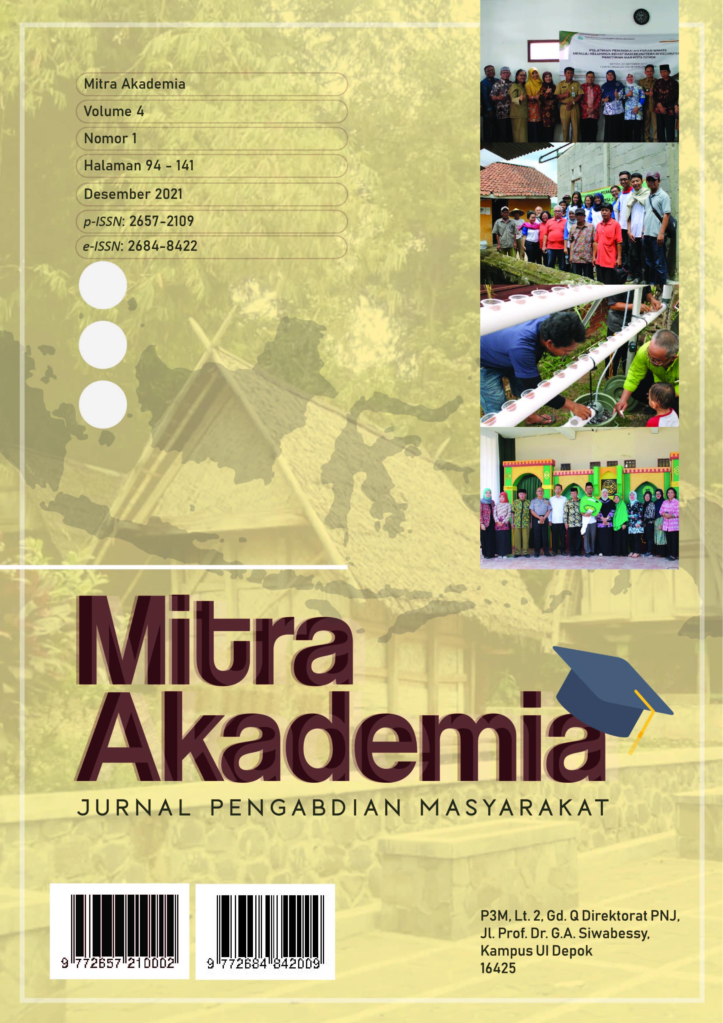 View Vol. 4 No. 1 (2021): Mitra Akademia